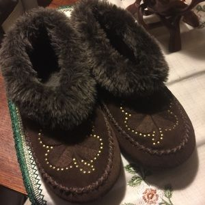 Lucky Brand Sabrina Clover Slippers NWOT Size 6